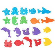 Babies R Us Foam Sea Animal Bath Set - 20 Pieces