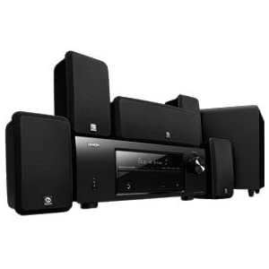Denon DHT-1513BA Total 650 Watt 5.1 Channel Home Theater
