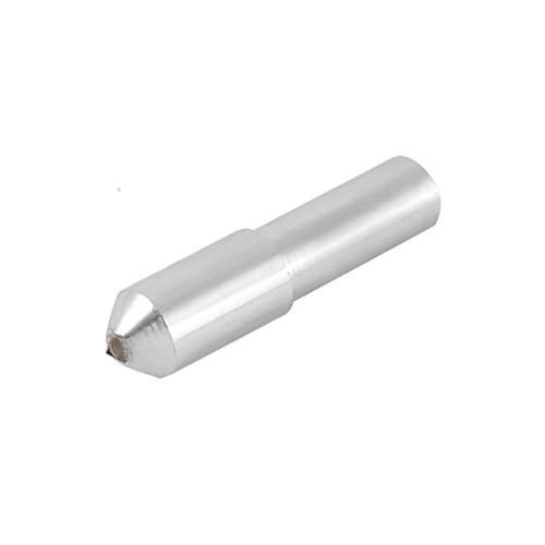 sourcingmap® Metal Grinding Wheel Diamond Dresser Pen Silver Tone 48mm Length