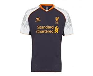 Warrior Liverpool Football Club 3rd Short Sleeve Jersey - Nightshade Purple Large by Warrior