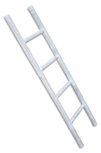 LioLiving-Handtuchhalter-Dekoleiter-aus-Bambus-weiss-white-washed-150-x-41-cm-400040