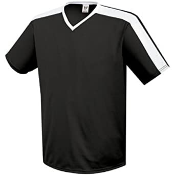 High Five Genesis Youth Black-White Soccer Jersey - Youth-XS