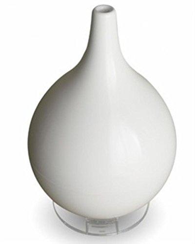 Broksonic Hybrid Ultrasonic Humidifier & Diffuser, White - 1