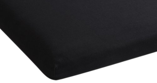 Beddinghouse Jersey mit Lycra Split-Topper-Spannbettlaken / 180/200*200/220 cm / Schwarz bestellen