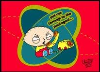 Family Guy Pentagon Magnet FM1459