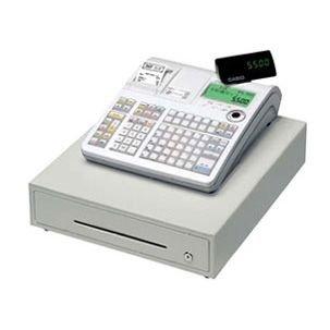 CASIO レジスター 物販向け 30部門 中型ドロア ネットレジサービス対応 TE-5500-30M ホワイト