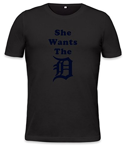 She Wants The D Mens T-Shirt X-Large