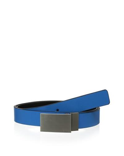 Calvin Klein Men's Reversible Flat Strap Saffiano Belt