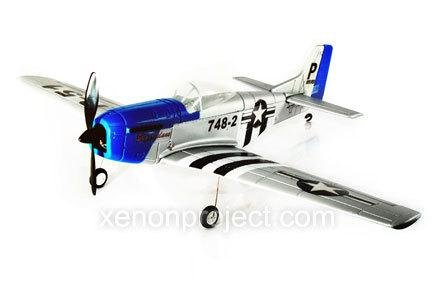 Radio Control P-51D Mustang RC 4 Channel Electric Airplane RTF