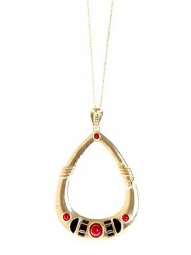 Belle Noel By Kim Kardashian Egyptian Pendant Necklace - Gold