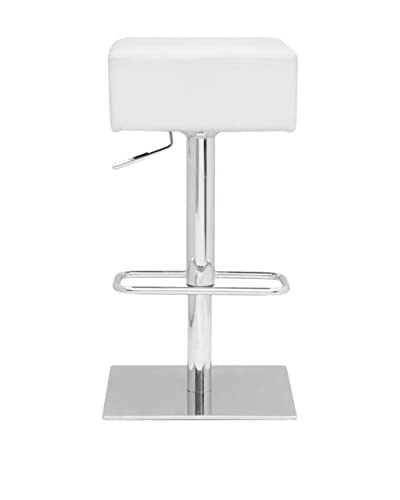 Manhattan Living Marshmallow Bar Stool, White
