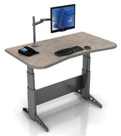 DSS Single-Surface Adjustable Workstations (Hgt. Range 23