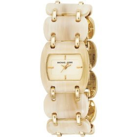 Michael Kors #MK4179 Women's Acrylic Horn Link Watch