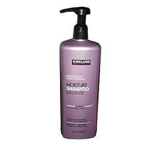Kirkland Signature Professional Salon Formula Moisture Shampoo 33.8 Ounce Bottle
