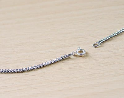 Chain Necklace for SOS Talisman Stainless Steel