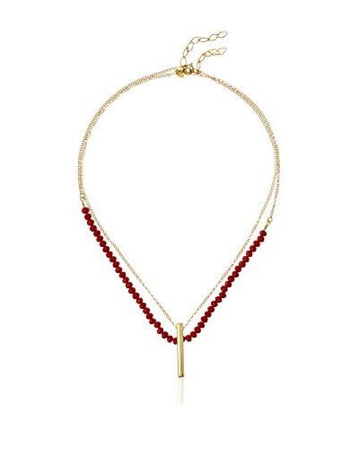 Cordoba Joyeros Collar plata de ley 925 milésimas bañada en oro