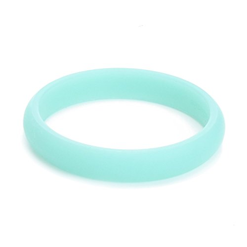 Chewbeads Juniorbeads Skinny Charles Jr. Bangle Bracelet Glow in the Dark - Spearming