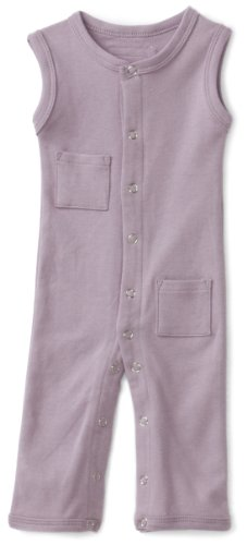 L'Ovedbaby Unisex-Baby Infant Sleeveless Overall, Lavender, 0-3 Months front-726760