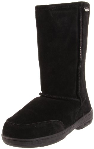 Womens Bearpaw Meadow 10-inch Sheepskin-lined Lug Sole Suede