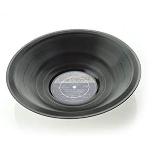 Vinyl Record Bowl - Large