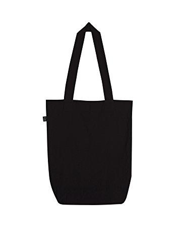 EarthPositive - Organic Fashion Bag / Black, 36x40x8 cm