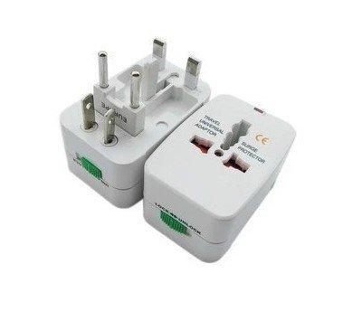 Newdigi? Cothplugun01 Insten Universal World Wide Travel Charger Adapter Plug, White
