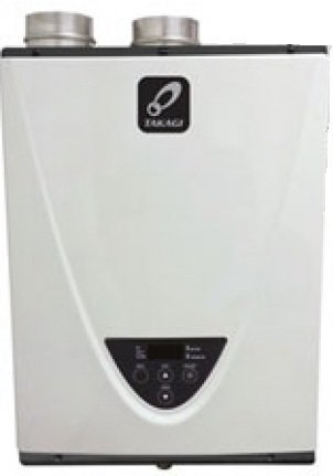 Takagi TH3DV TH3 Series 199000 BTU Direct Vent Indoor Whole House Tankless Water Heater, Natural Gas