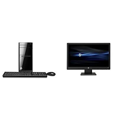 HP 110-430 Desktop with 23-inch HP W2371d Monitor Bundle