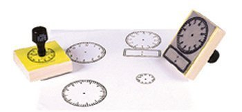 Stamp Large Clock W/ Numbers 2-1/2 Square おもちゃ【並行輸入品】