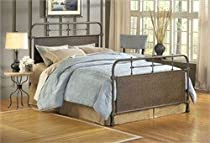 Hot Sale Hillsdale Furniture 1502BQR Kensington Bed Set with Rails, Queen, Old Rust