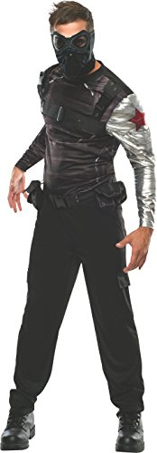 Rubie's Men's Marvel Universe Captain America The Winter Soldier Deluxe Costume