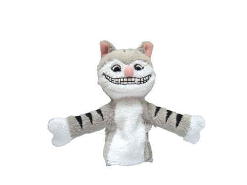 Cheshire Cat Finger Puppet and Refrigerator Magnet - By The Unemployed Philosophers Guild