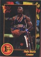 Dale Davis Indiana Pacers 1992 Wildcard Autographed Hand Signed Trading Card. by Hall+of+Fame+Memorabilia
