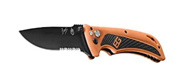 Gerber Bear Grylls Survival AO Knife, Assisted Opening, Drop Point [31-002530] by Gerber