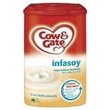 Cow & Gate ベビー用豆乳(アレルギー乳児用粉ミルク)、900g x 6個 (新生児から) / Cow & Gate (カウ & ゲート)