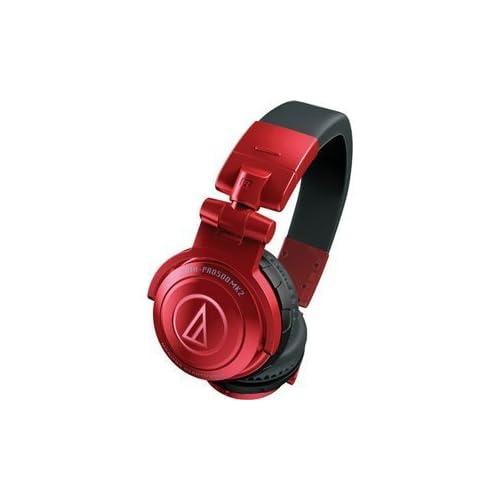 audio-technica DJヘッドホン ATH-PRO500MK2 RDの写真01。おしゃれなヘッドホンをおすすめ-HEADMAN(ヘッドマン)-