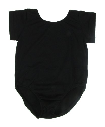 Play Dance Leotard For Girls Ages 1-11 Years (12-24 Months, Black) front-616042
