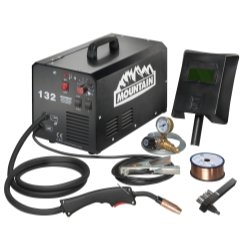 120-Amp Commercial Portable (115-Volt) MIG Welder from Mountain