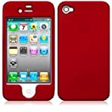 IPHONE 4 HYBRID ARMOUR CASE RED PART OF THE BCW ACCESSORIES RANGEby BCW