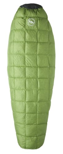 Big Agnes Pitchpine SL 45-Degree Sleeping Bags(800 Down fill), Reg Left Zipper