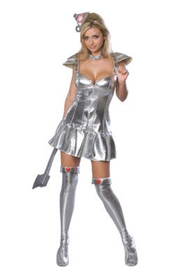 Tin Woman Costume - X-Small - Dress Size 2-6