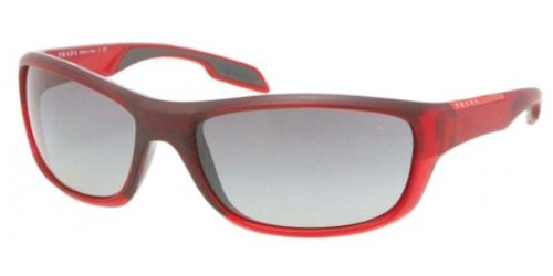 prada Prada Sport 04NS JAM3M1 Bordeaux 04ns Wrap Sunglasses