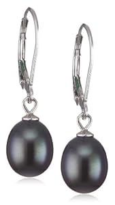 Valero Pearls - 60201693 - Boucles d'oreille Femme - Argent 925/1000 - Perle