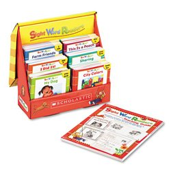 Scholastic 0439511836 Sight word readers, 128-page teaching guide, for grades pre k-1