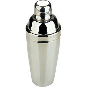 Classic Stainless Steel Cocktail Shaker - 1 Litre / 28 oz - Make Your Own Cocktails At Home!!