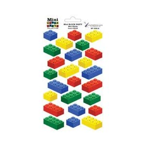 Click to buyPaper Wizard - Block Party Collection - Lego - Stickers - Mini Blocks  from Amazon!