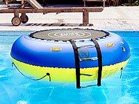 Schwimmendes, aufblasbares 4 in1-Trampolin! Für Wasser und Garten
