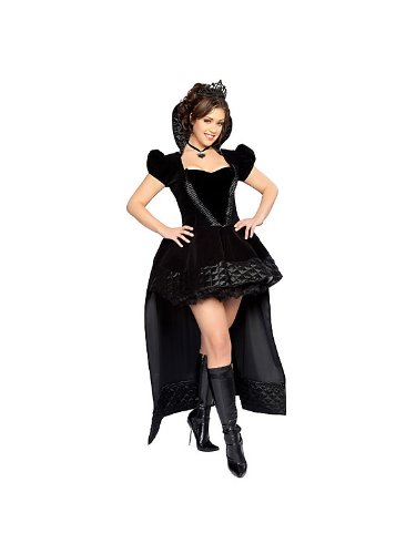 Adult Sexy Wicked Queen Plus Size Deluxe Costume