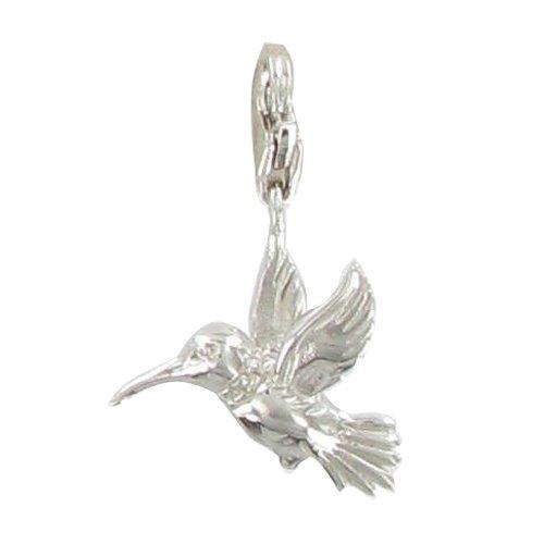 MELINA Charms Pendentif oiseaux colibri Argent 925