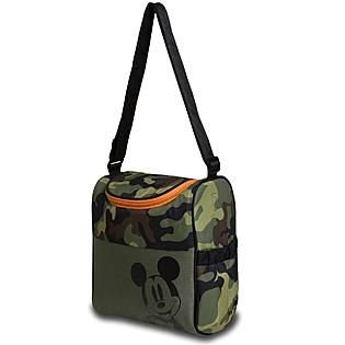 Mickey Mouse Insulated Diaper Bag - Camouflage - 1